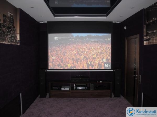 Домашний кинотеатр: рекомендации по монтажу и проектированию
