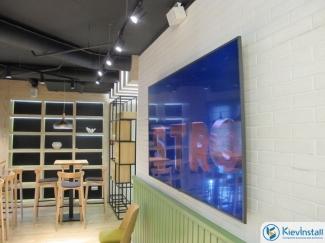 Система фонового озвучивания в ресторане (Киев, улица Черновола)