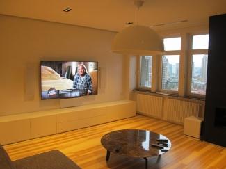 Аудио системы в квартире (Киев,улица Гончара)