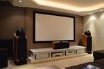 Установка и подключение домашнего кинотеатра премиум уровня