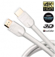 JenTech HDMI HIGH SPEED ETHERNET WHITE 3м