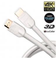 JenTech HDMI HIGH SPEED ETHERNET WHITE 3м