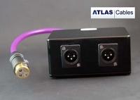 Atlas 3 Way XLR Junktion Box