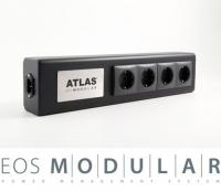 Atlas EOS Modular 3F1U Schuko