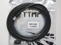 TTAF 96505 High Speed HDMI Cable with 4K/3D/Ethernet 7.5 m