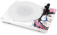 Pro-Ject DEBUT CARBON DC ESPRIT PS00 WHITE FRIDA 2M RED